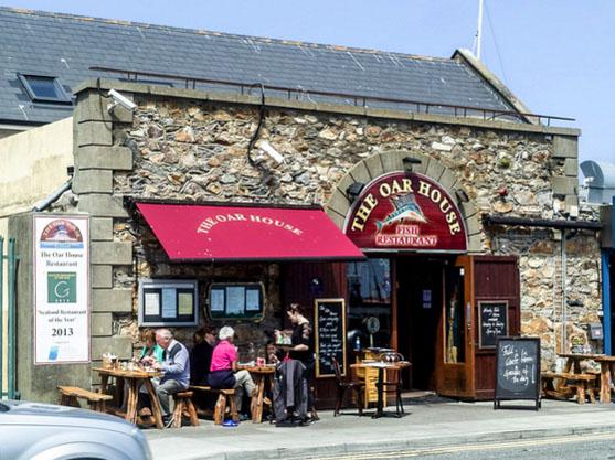 the oar house fish restaurant