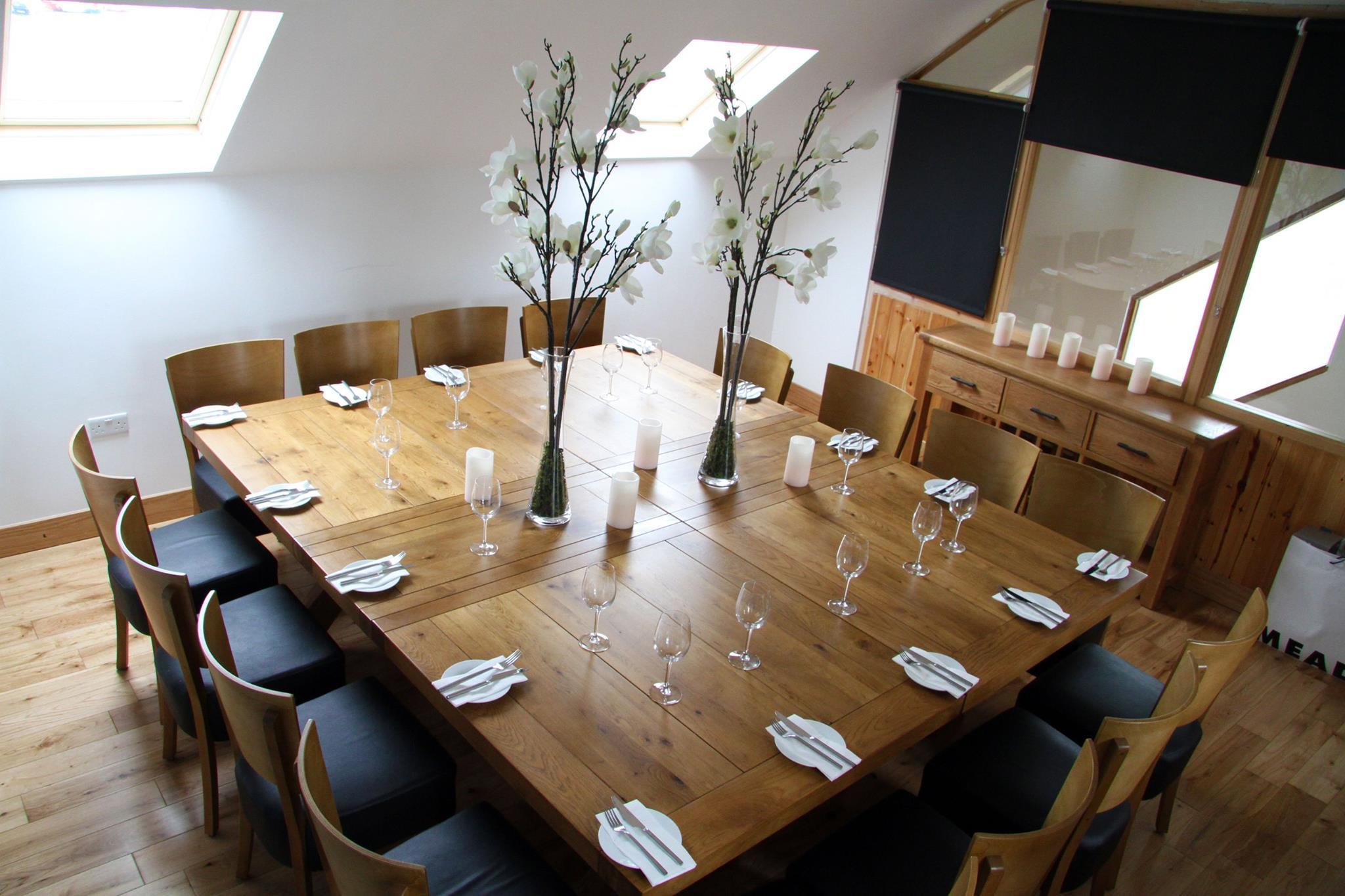 private dining room in howth