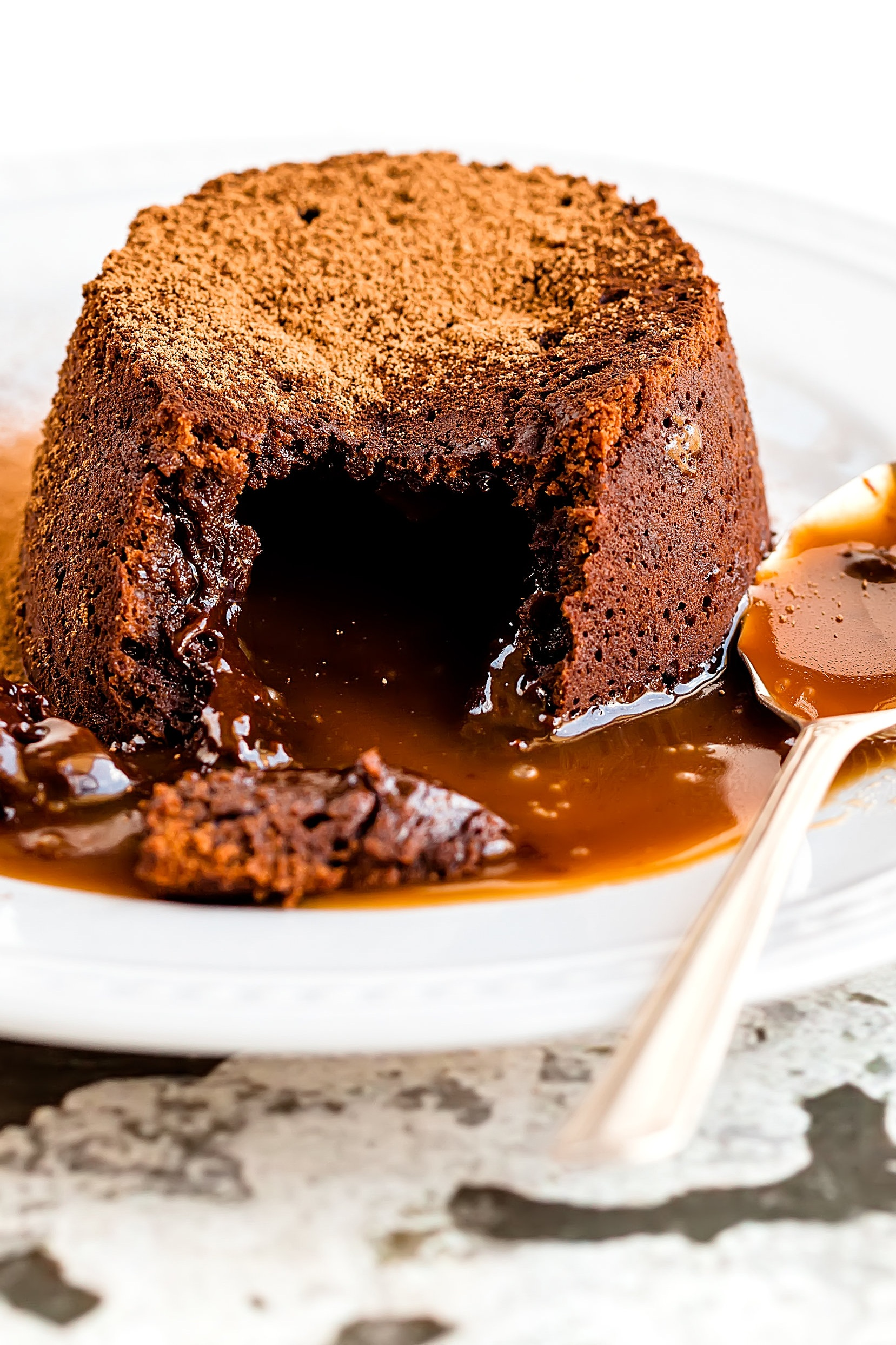Save room for the sticky toffee pudding!