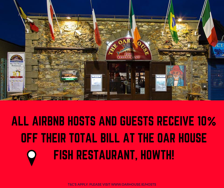 10% discount for airbnb guests