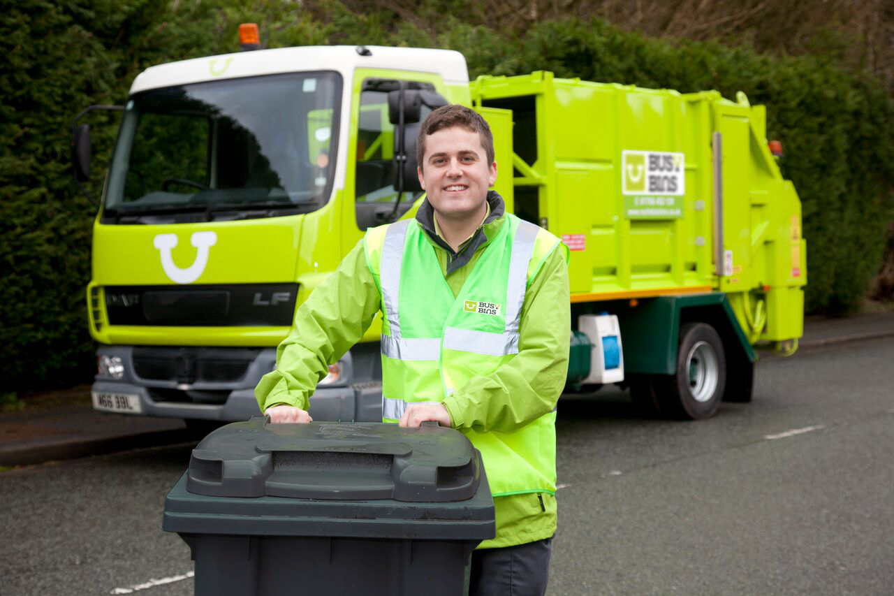 Always out when we empty your bins? Now you know what we look like, keep your eyes peeled and give us a wave when you next spot one of the team in your area.