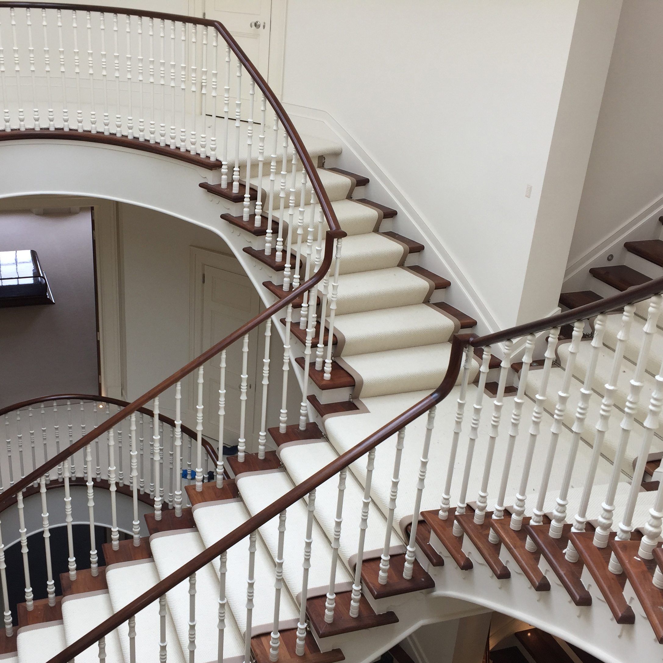 Teppe til trapp