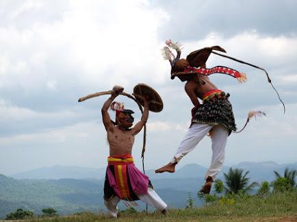 Caci Dance -