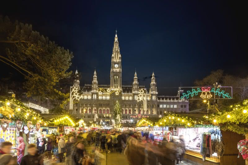 Christmas Market di Vienna