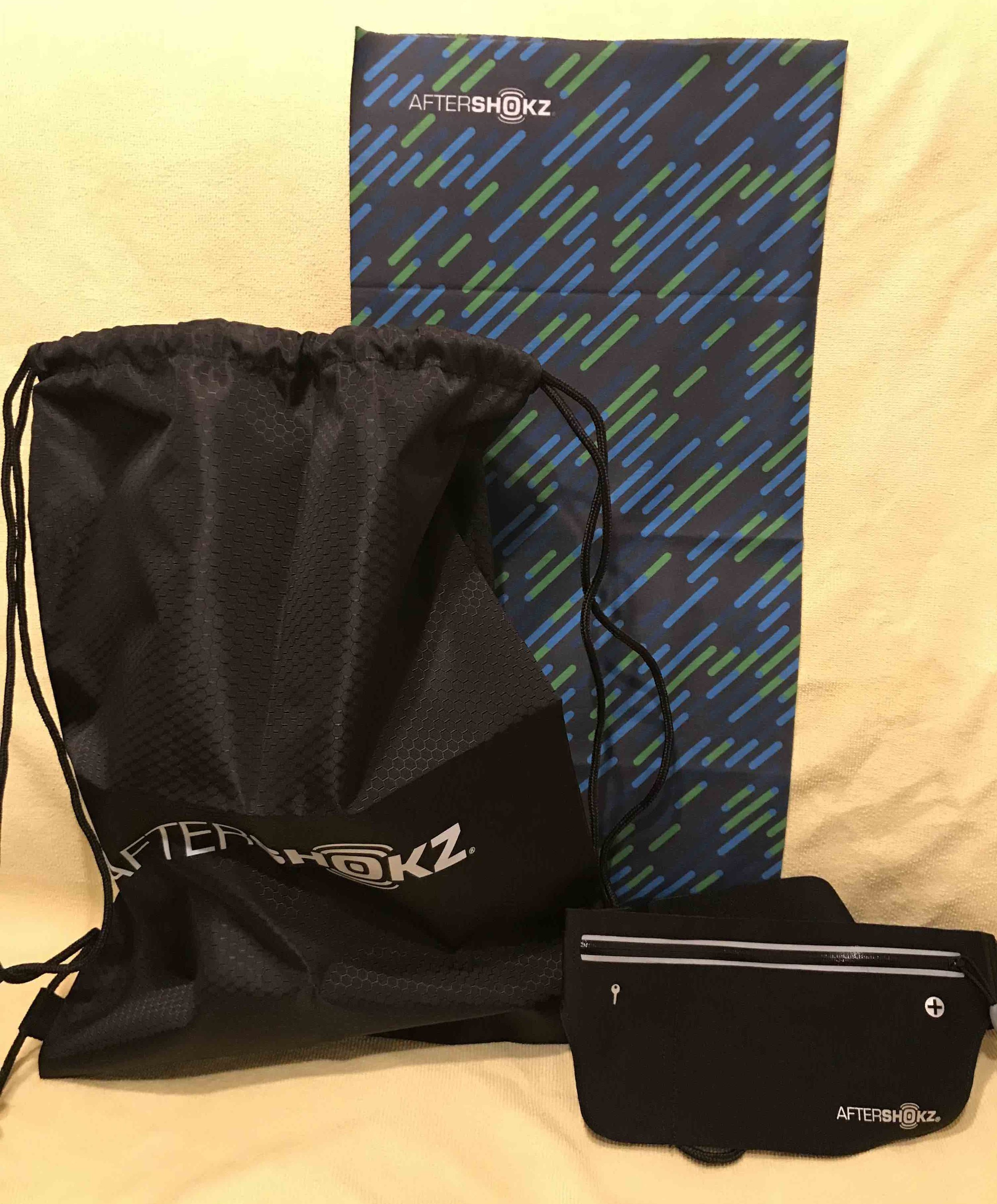 Second Prize - For all other finishersRunning Kit (Shoe lace, waist pouch, headband)