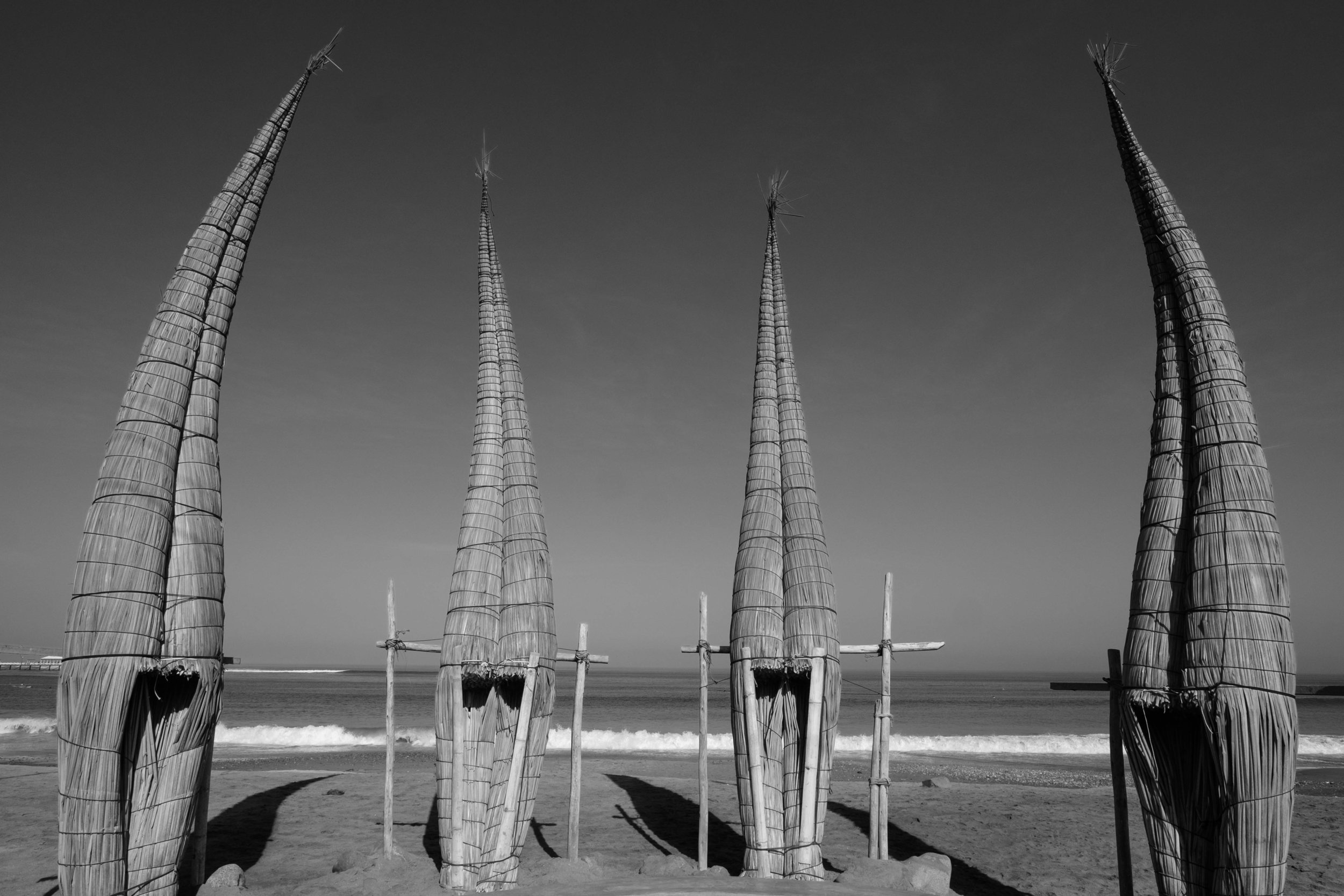 Caballitos de Totora in Huanchaco, where Otra Cosa Network is located