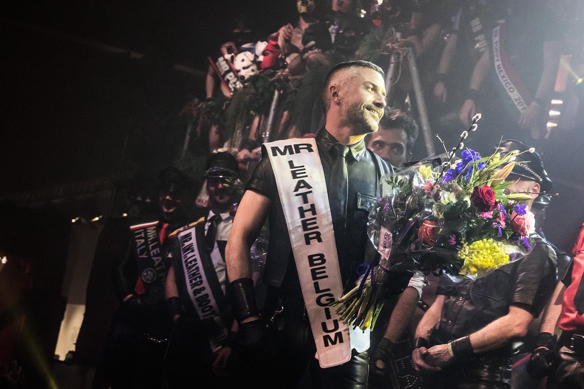Bernard is mister Leather Belgium 2019 - During the Belgian Leather & Fetish pride in Antwerp, the next mister Leather Belgium was elected!We are very proud to introduce to you Bernard!