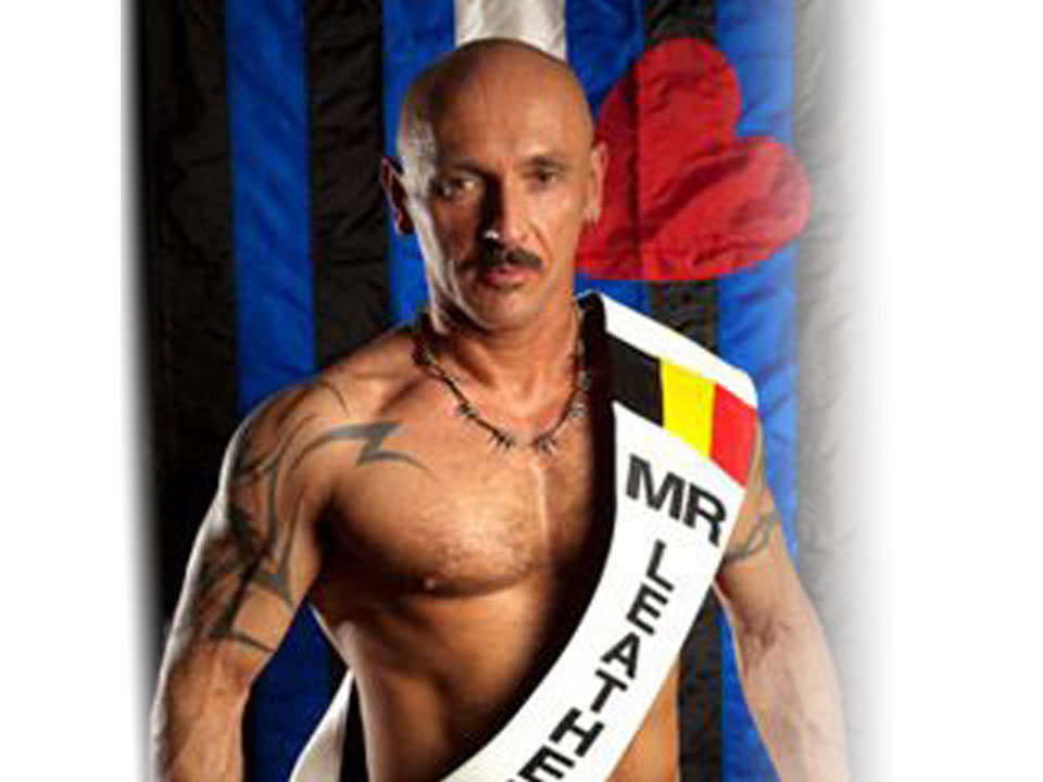 Luc - Mister Leather Belgium 2010