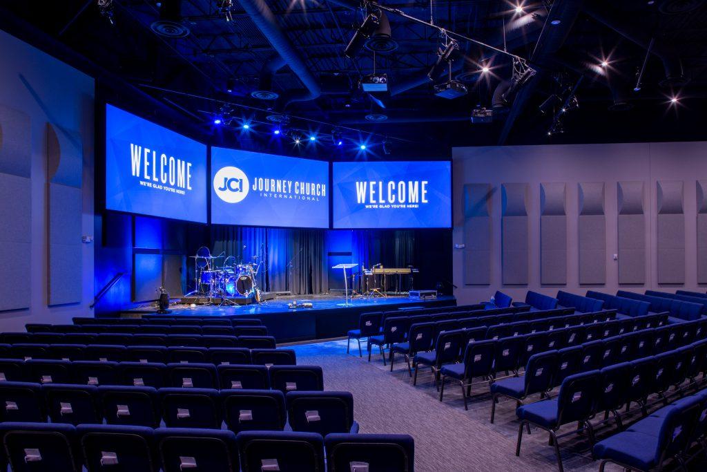 Journey Church International, Lee's Summit, Missouri. Photo by Emmalee Schaumburg