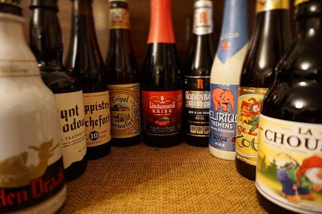 Just a small selection of some of the beers we're going to be stocking in our cafè. We're so excited!! 😃 #bierhuisgrandcafe #belgianbeer #stives #openingsoon #beertasting #soexciting #beerbeerbeer