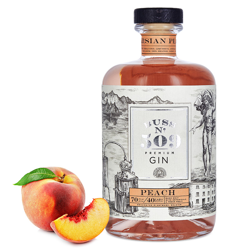 BUSS N°509 PERSIAN PEACH GIN