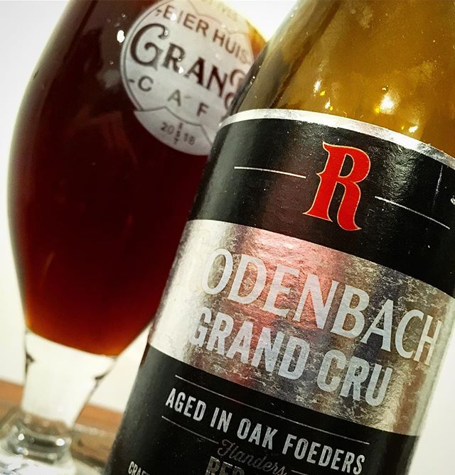Rodenbach Grand Cru is a lovely Flemish red ale, if you like an oaky and tarty beer! It has a wine like character and has won multiple world beer awards. #belgianbeer #flemishred #ale #rodenbachgrandcru #rodenbach #belgian #grandcru #beer #oakcask #mature #worldbeerawards #bottle #bierhuisgrandcafe #bierhuis #grandcafe #stives #cornwall