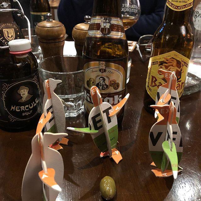 Vedett Penguin Football.  #bierhuisgrandcafe #vedettpenguin #kwak #herculestout #belgianbeers #belgianinspired #stivescornwall #beerhouse #penguin #bosteelsbrewery #duvelmoortgat #duvelbeer #agathachristie #herculepoirot