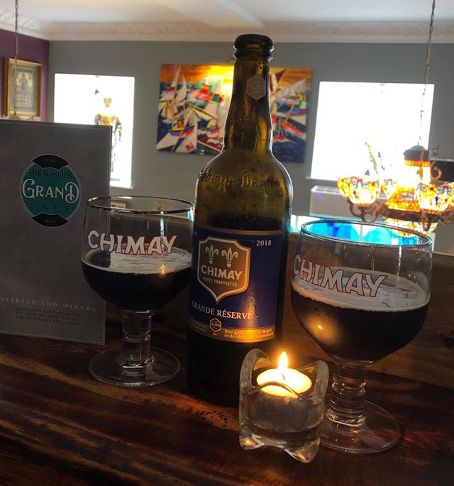 Chimay Grand Reserve #biersdechimay #stives #chimay #belgianbeer #abbayedechimay #belgianbeerguide #chimaybrewery #independant #16standrewsstreet #stivesrestaurant #chimaygrandreserve