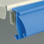 Clip-On Carrier Profiles - Snaps to your shelves and supports holders