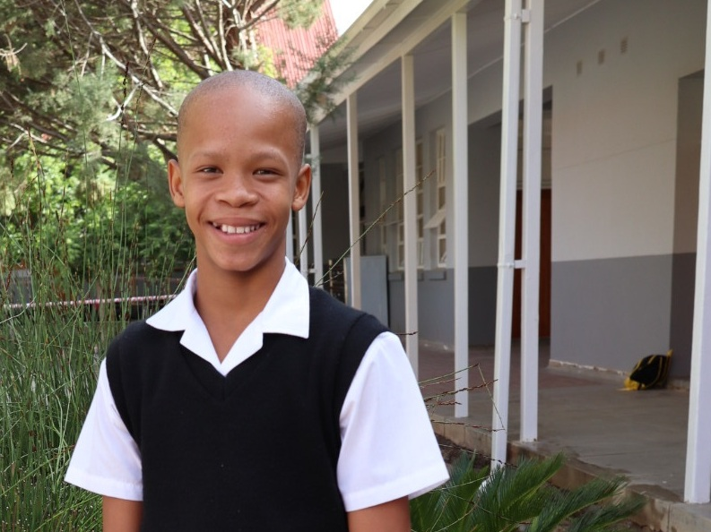 Robin-Lee Eland (Gr. 6) - An exceptionally well mannered, kind young boy who has a passion for athletics. He has represented his school at national level at the SASA National Primary School Athletics Championship, winning gold for the 80m sprint. Diligent in his school work, his teacher assured us that even with his busy athletics schedule, he always does his academic work to his best ability.