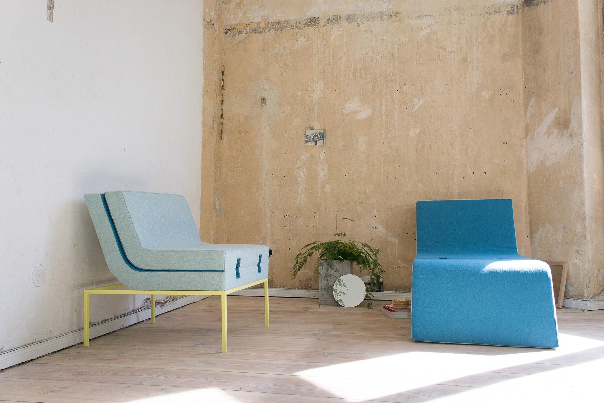 LLAY - modular easy chair, chaise longue, sofa