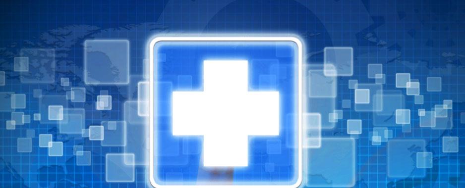 Digital hospital cross