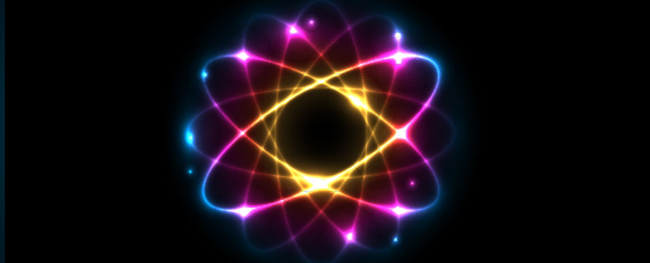 Expressively colored atom