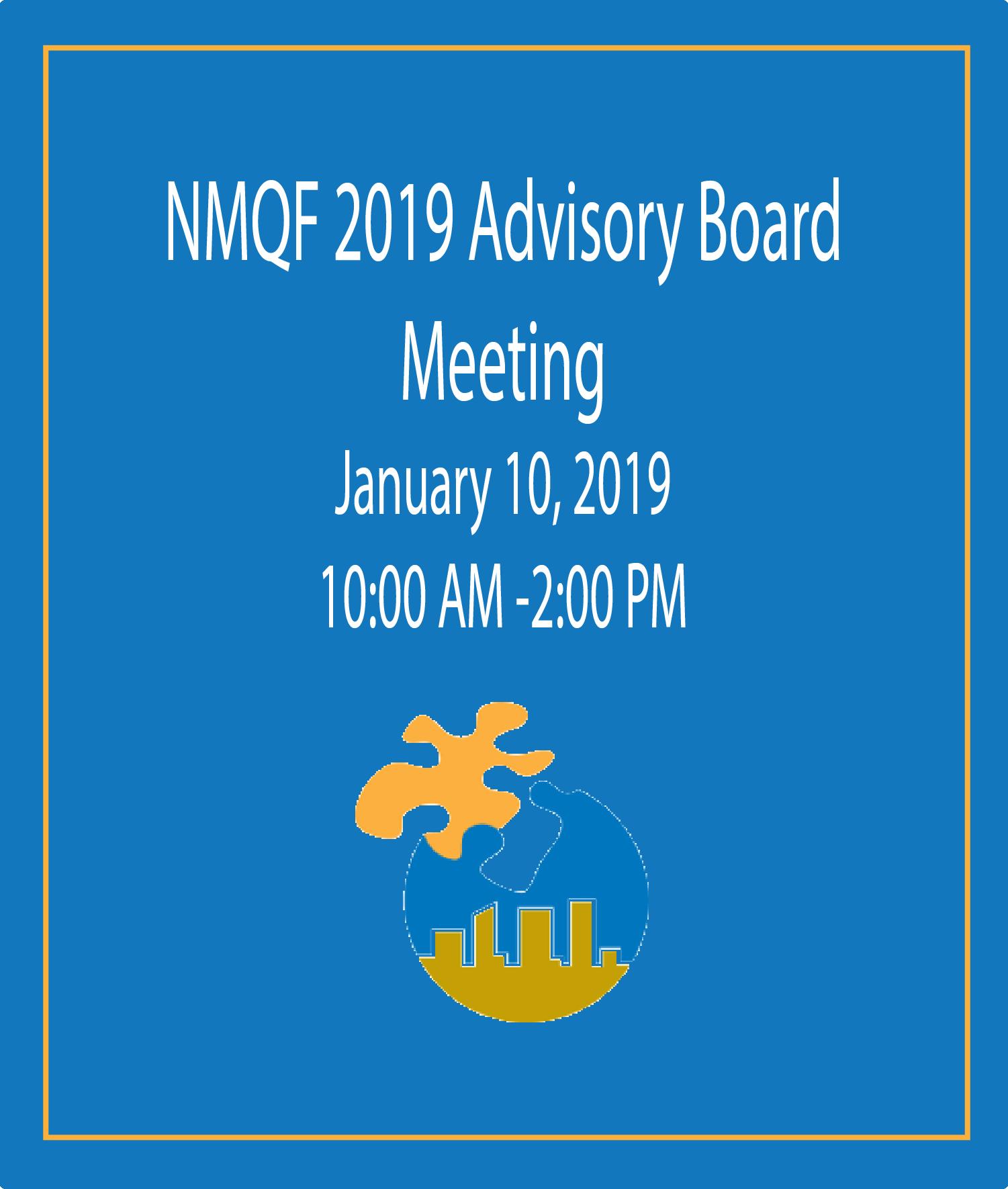 NMQF Advisory Boarding Meeting Flyer