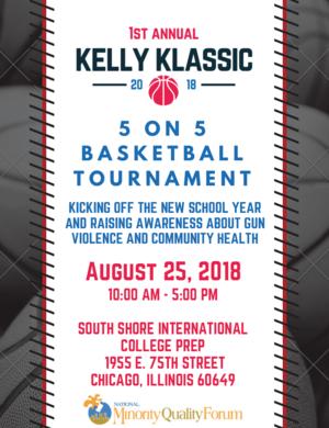 2019 Kelly Klassic Basketball Tournament Poster