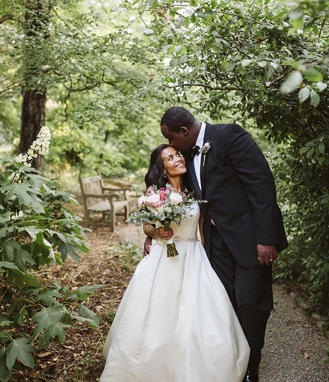 You know you are in the right profession when your heart still flutters with giddy and joy on a daily basis ❤️ We are so lucky to have a job that allows us to be surrounded by so much LOVE on a daily basis!! . Photo Credit: @kelseymcgovernphoto  Flowers: @floraldimensionsdurhamnc