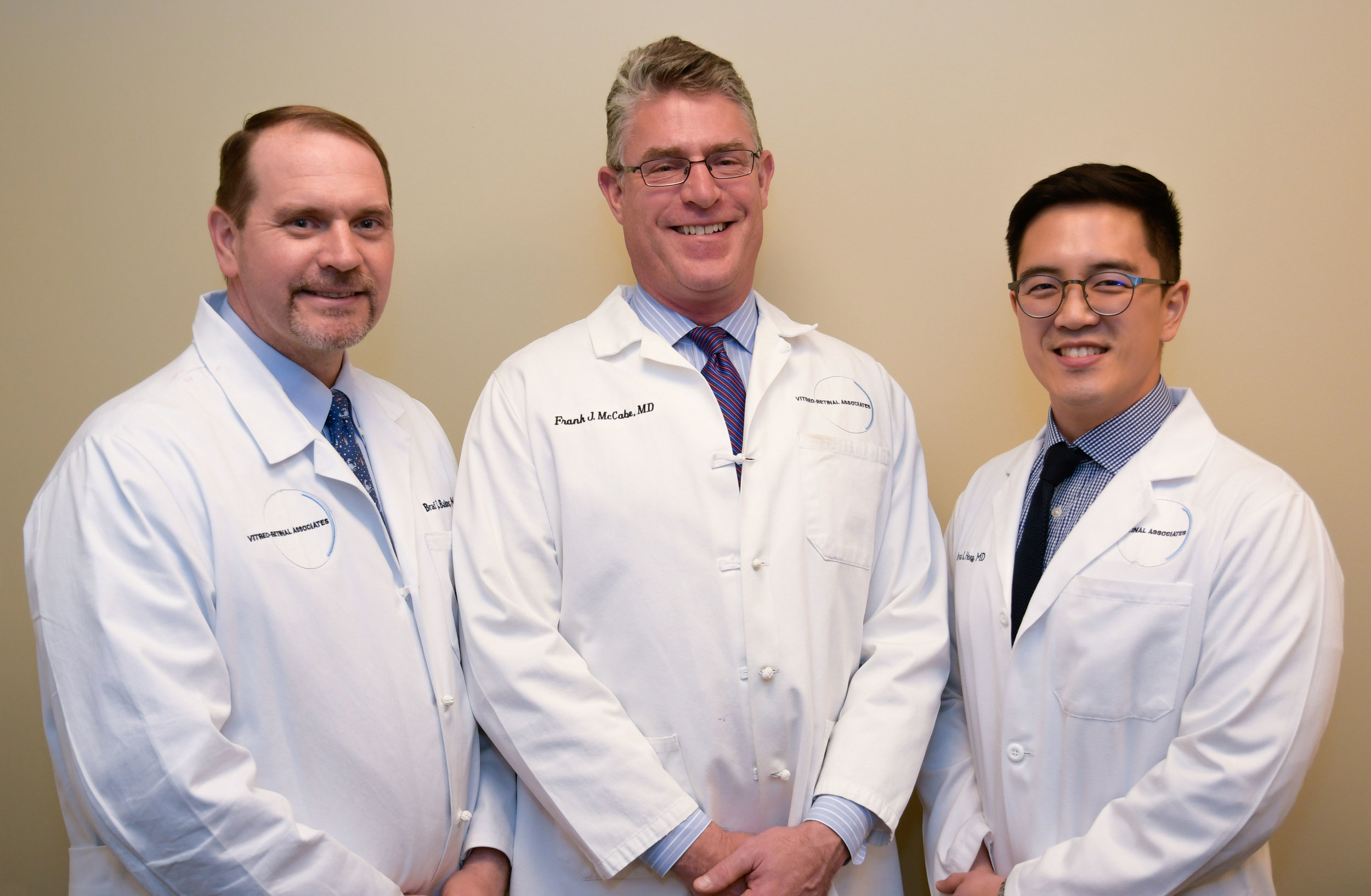 Drs. Baker, McCabe, and Hong