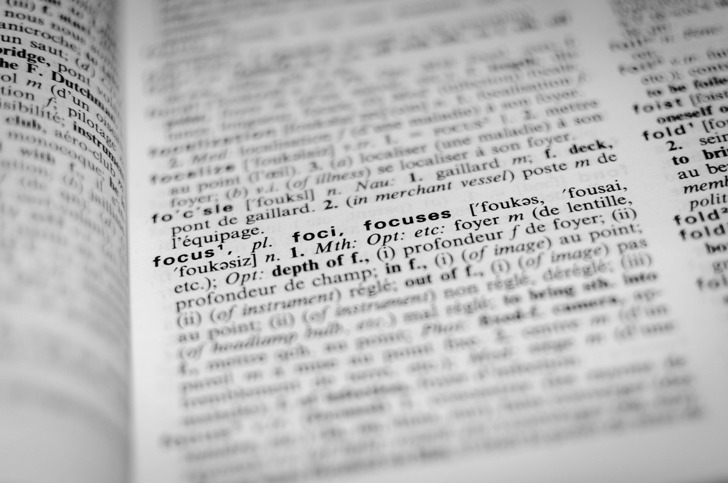Dictionary of Terms -
