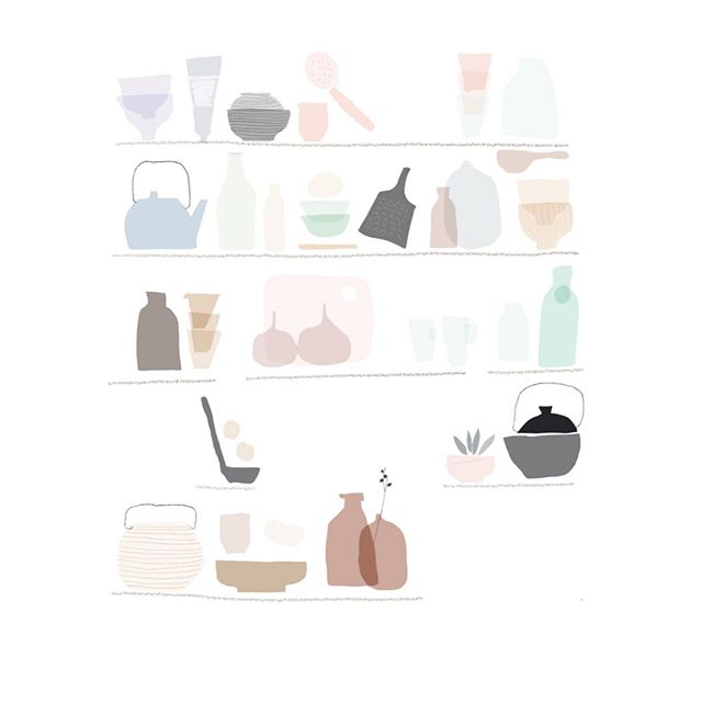 * Props Storage * Illustration by @studio_itinerante @farinasara . . . #studioitinerante #architetto #arredocasa  #arredamento #interni #interiordesign #interiordesigner #interiorstyle #interiorstyling #interiorstylist #homedecor #homedesign #interiordecor #furnituredesign #tablesetting #foodstyling #props #architettura #designblog #designblogger #interiorblogger #interiorblog #homeblog #homeblogger #architettoroma #architettomilano #interiordesignmilano #interiordesignroma #slowlife #slowliving