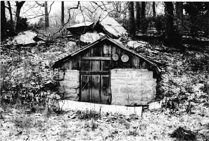 Ruby's old spring house.