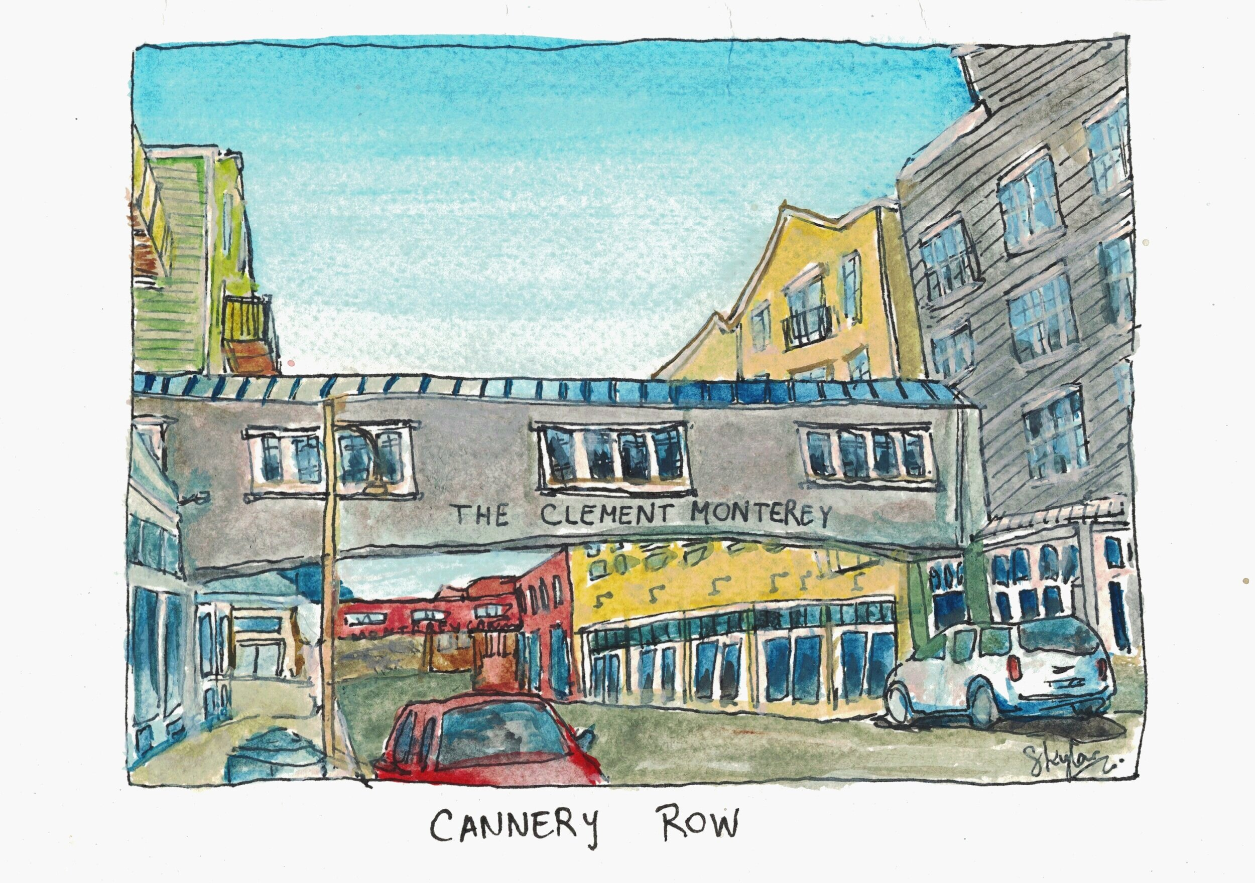 cannery-row-water-color