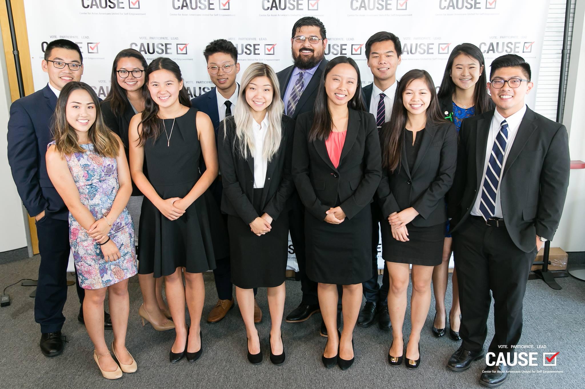 2018 Leadership Academy Interns