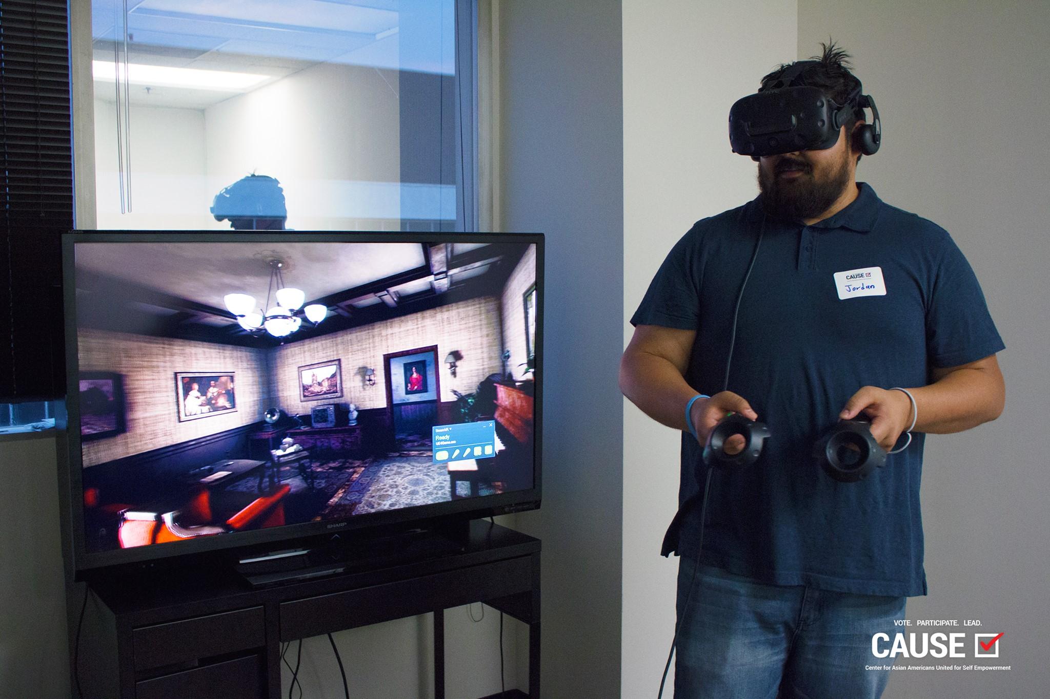 Demo of Pixel Canvas Studios VR game, Reiko's Fragments