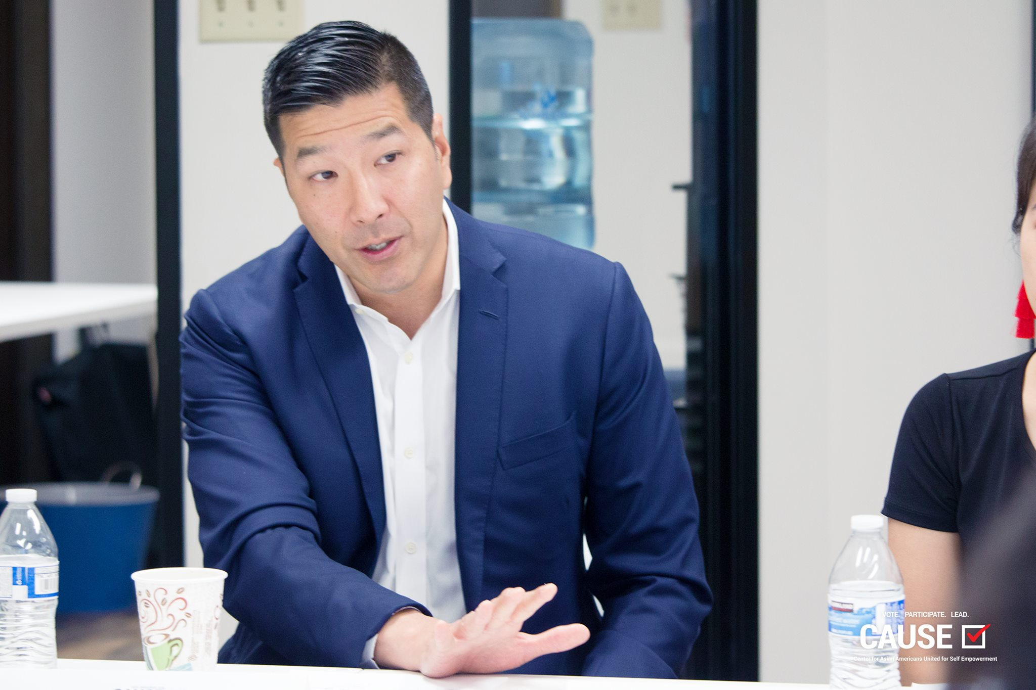 Paul Song speaking to the 2018 CAUSE Leadership Academy
