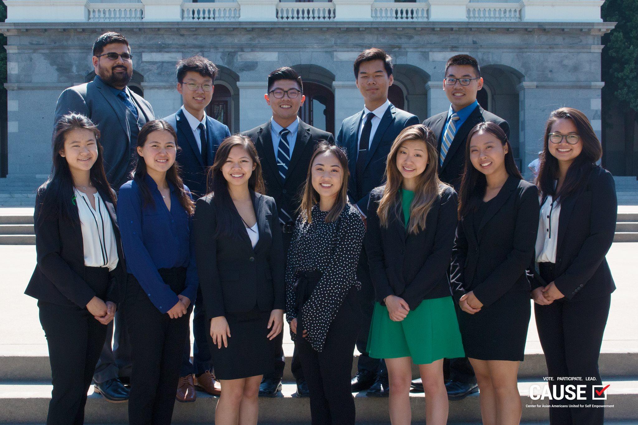 2018 CAUSE Leadership Academy interns