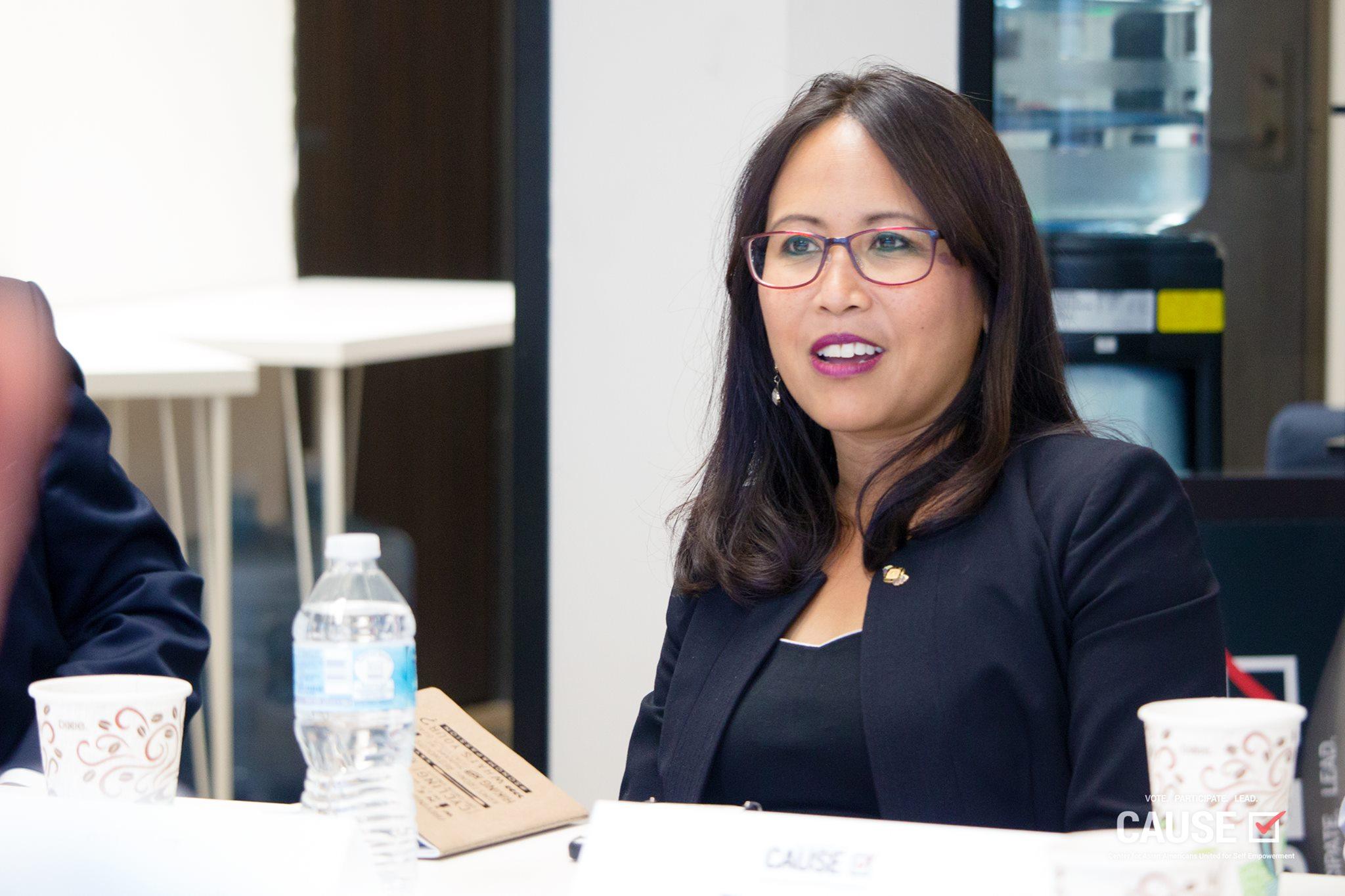 Councilwoman Rachelle Arizmendi