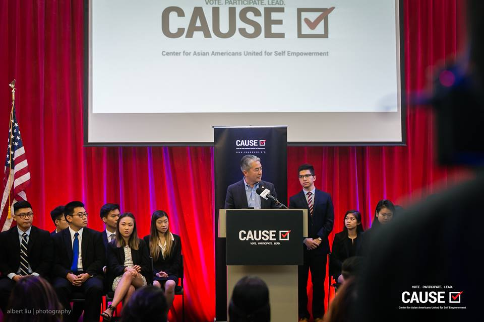 The Honorable Al Muratsuchi speaks at the 2018 CAUSE Leadership Academy Graduation