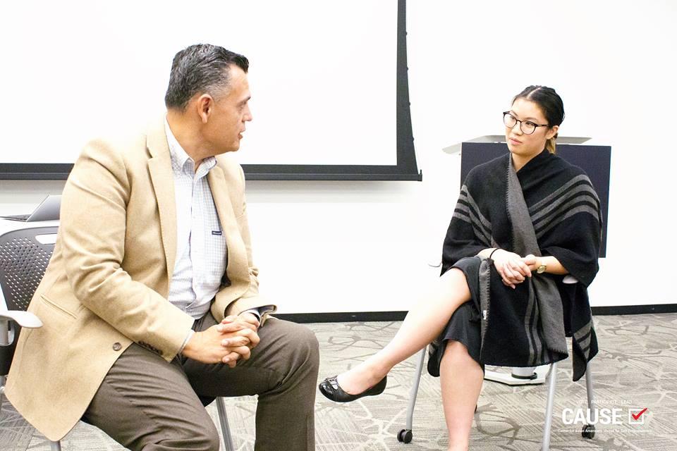 Jose Cornejo speaking to the 2018 CAUSE Leadership Institute