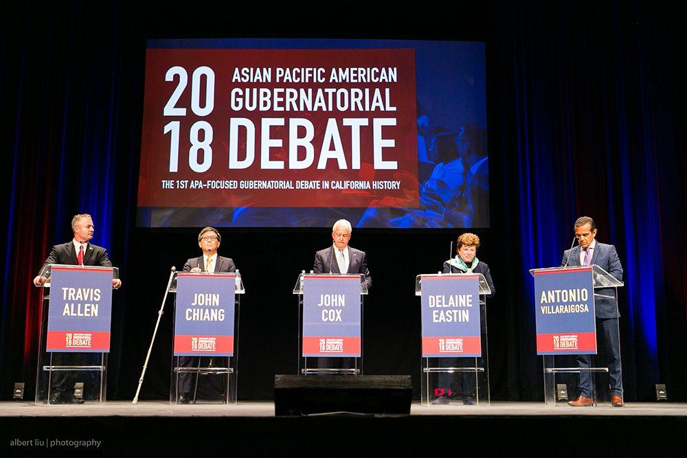 2018 APA Gubernatorial Debate