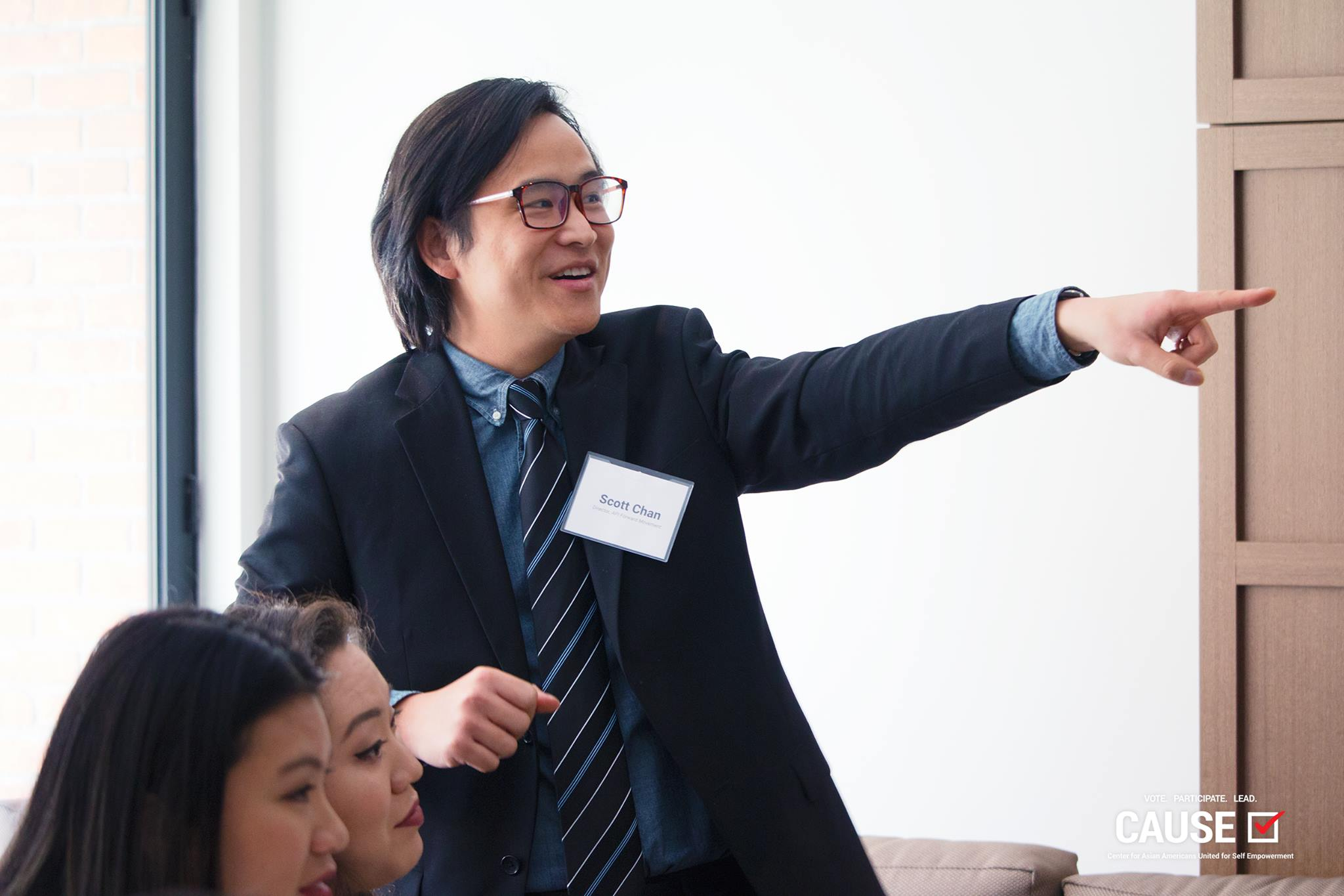 Scott Chan speaking to the 2019 CAUSE Leadership Network