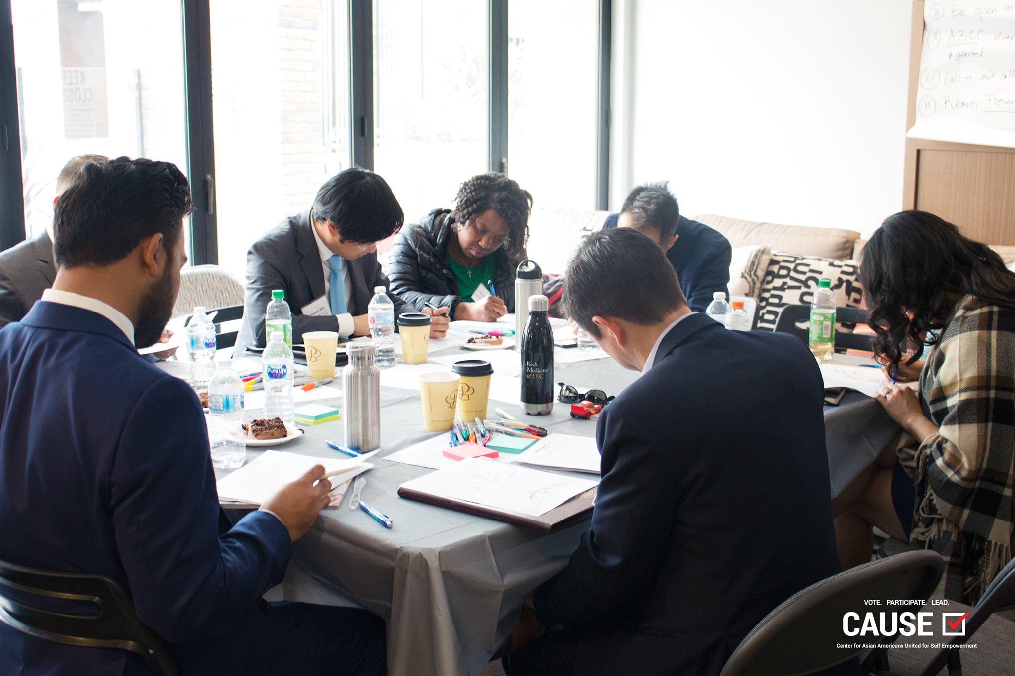 2019 CAUSE Leadership Network retreat