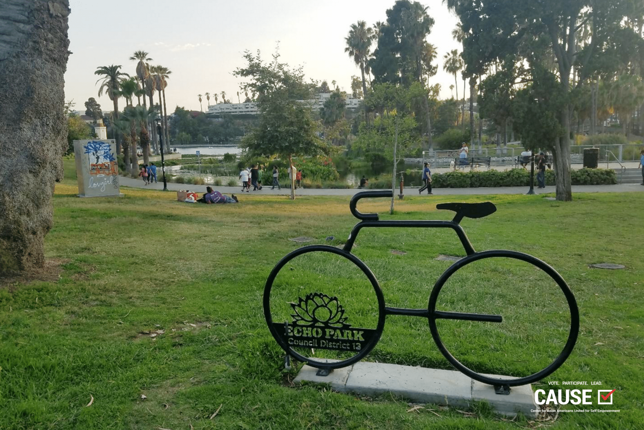 Echo Park Council District 13 sign