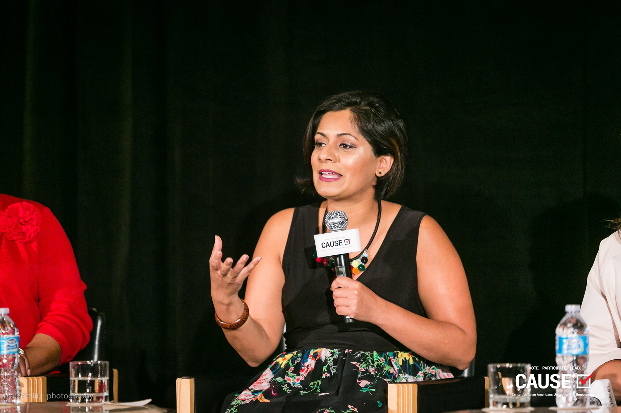 Taz Ahmed speaking at the 2017 CAUSE Women in Power Leadership Conference