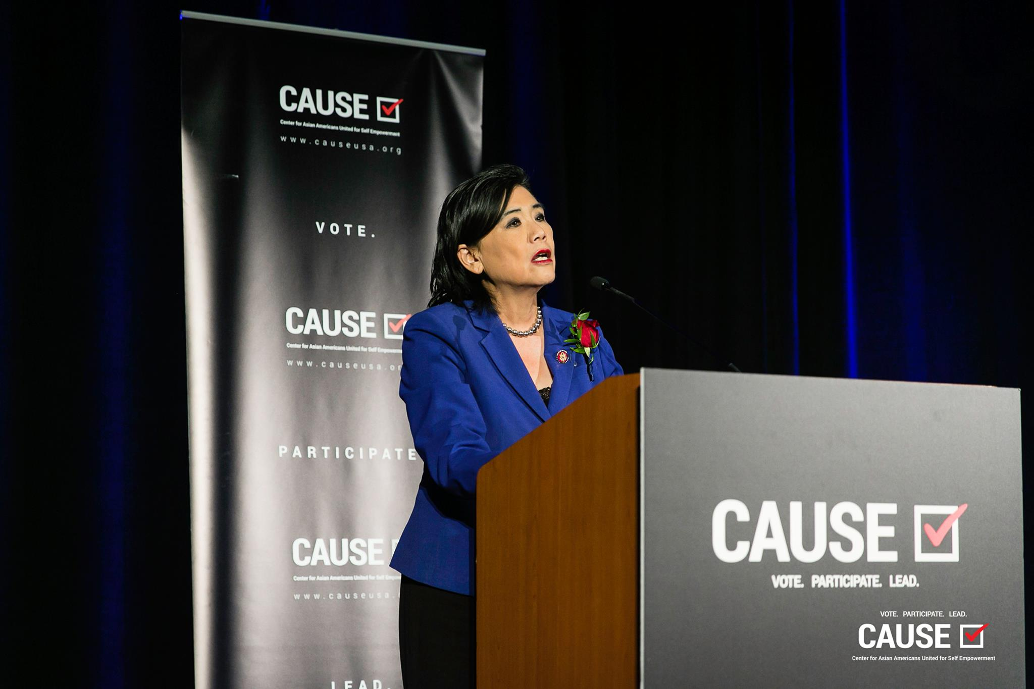 Judy Chu speaking at the 2019 CAUSE Annual Gala: The Future We Define