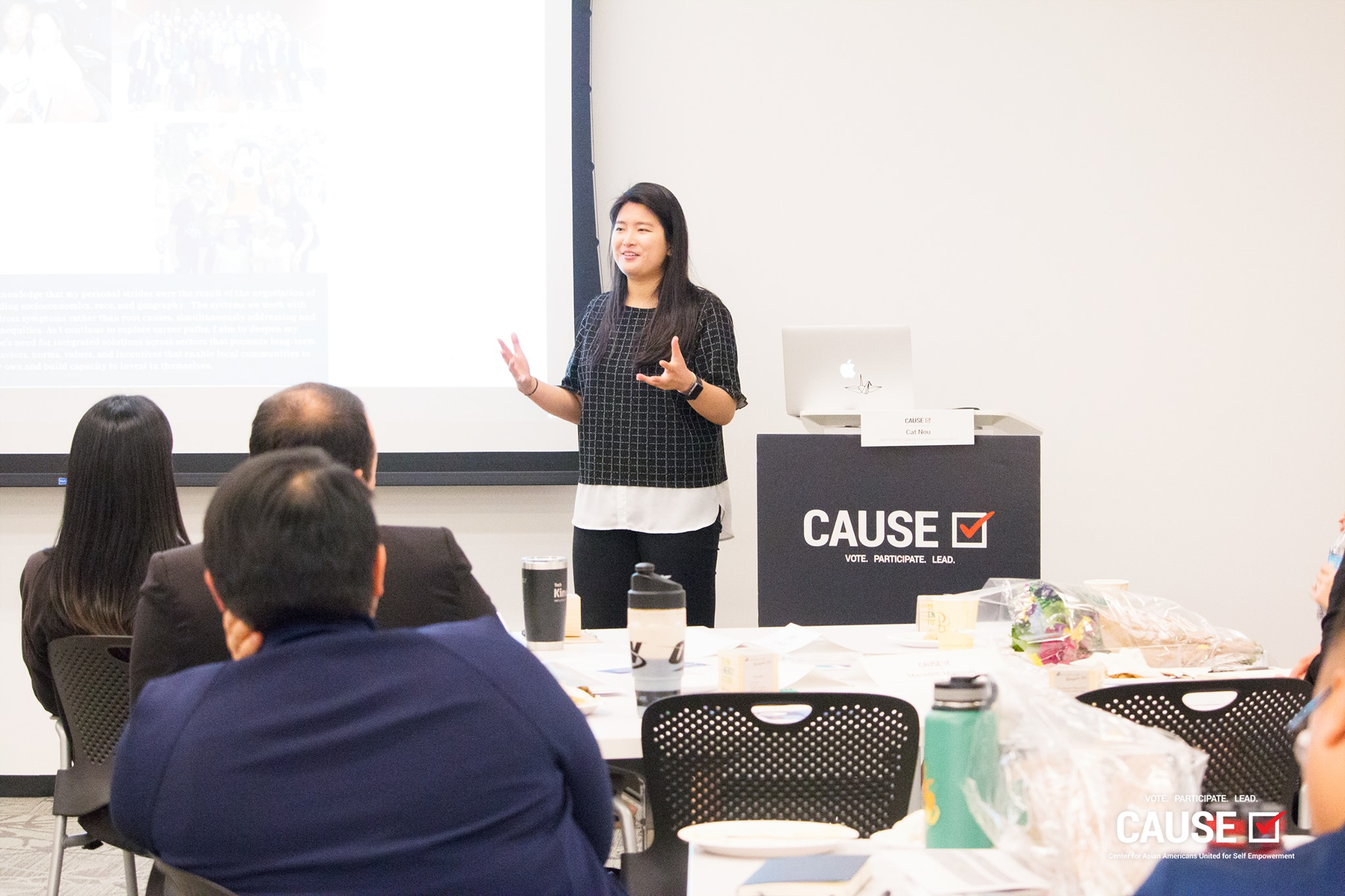 Eileen Ung of the 2019 CAUSE Leadership Institute