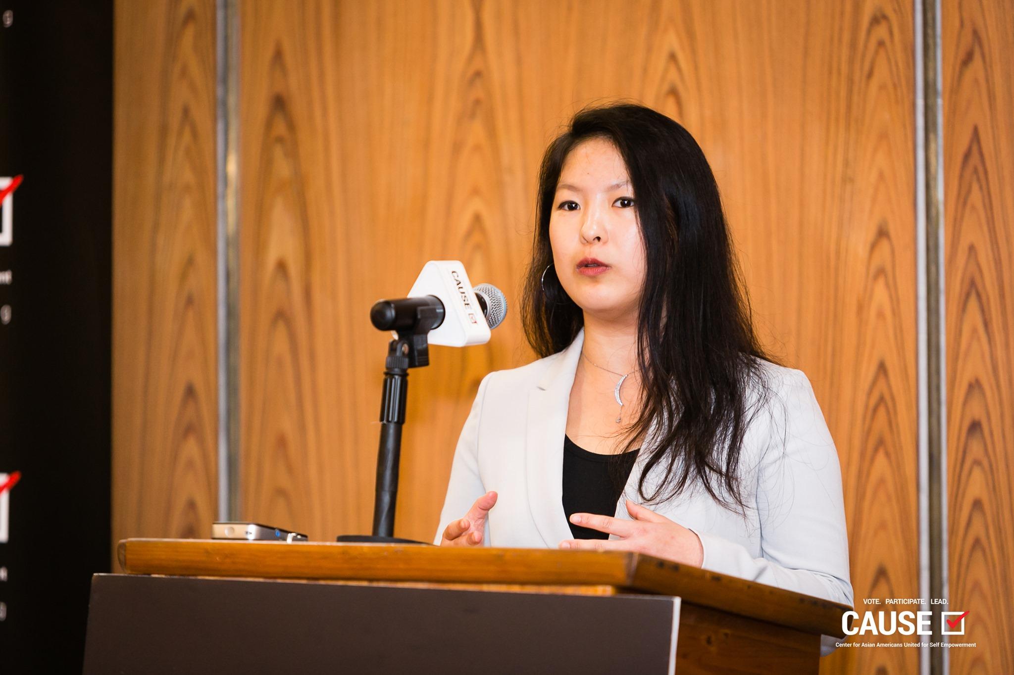 2019 CAUSE Leadership Academy intern Angela Wang