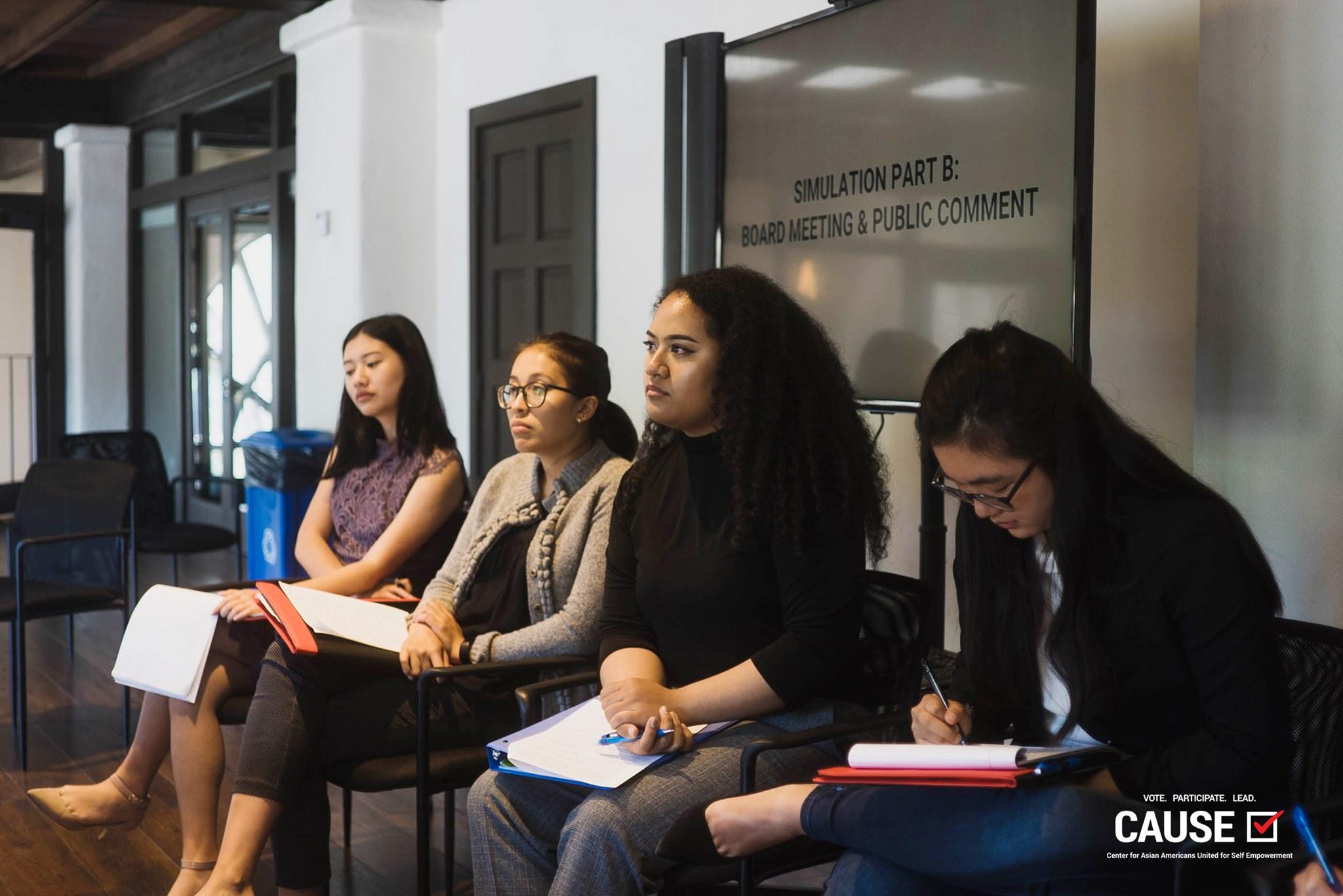Maamaloa Finau of the 2019 CAUSE Leadership Academy