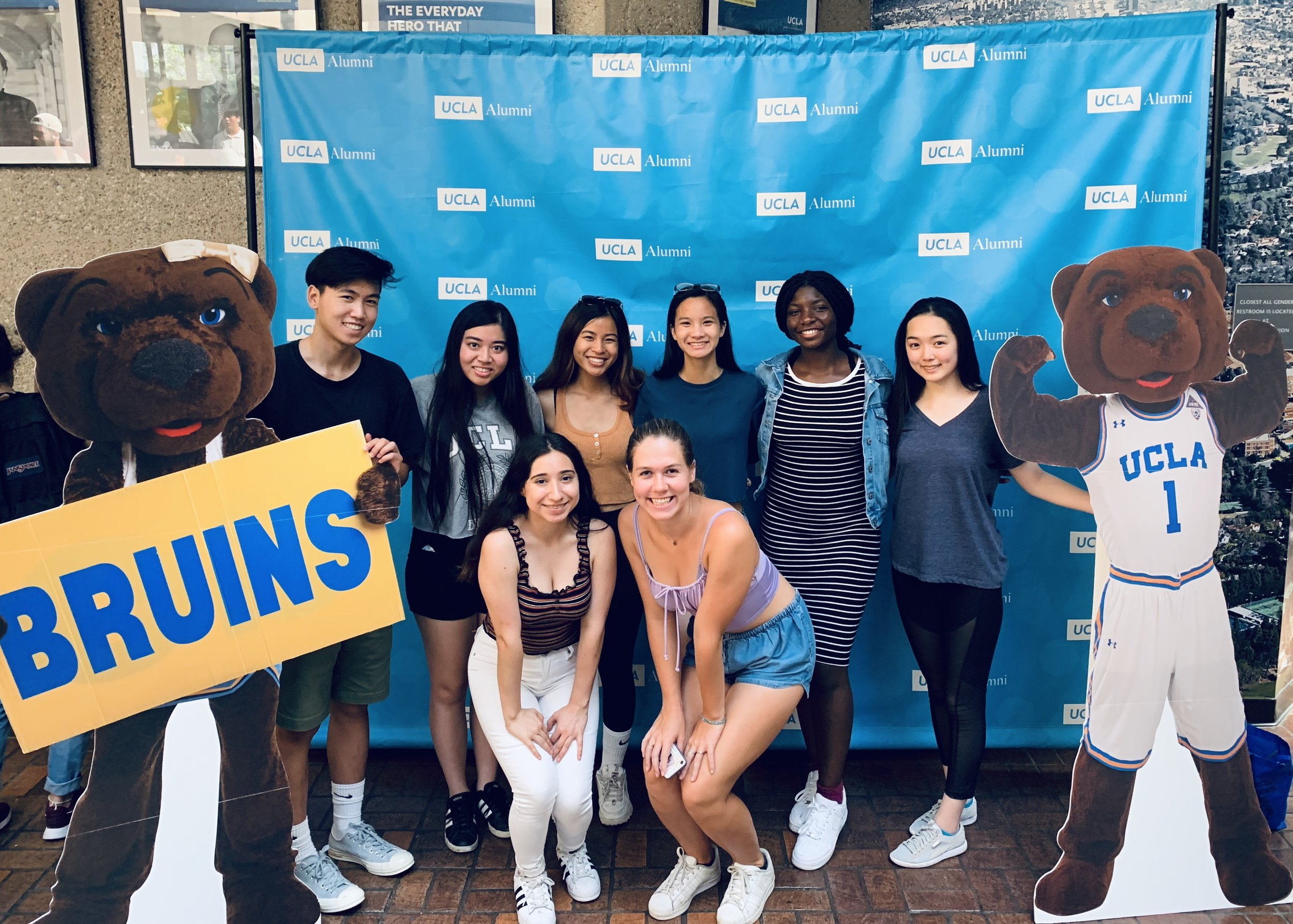 Thanh Mai of the 2019 CAUSE Leadership Academy attending UCLA Orientation