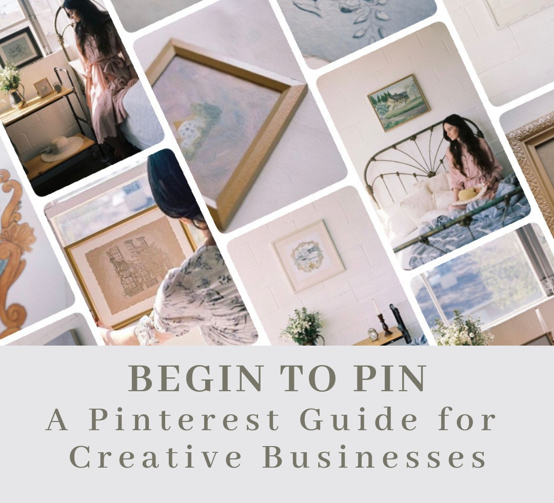Brand New Pinterest Course! - As an Artist, Pinterest has helped my art reach so many more people than I could have ever imagined! So, I have created a Pinterest Course that includes everything I have learned to help Artists, and Creative businesses showcase their products with 5 step by step videos! Get it now for only $49 or $11 a month for 5 months.