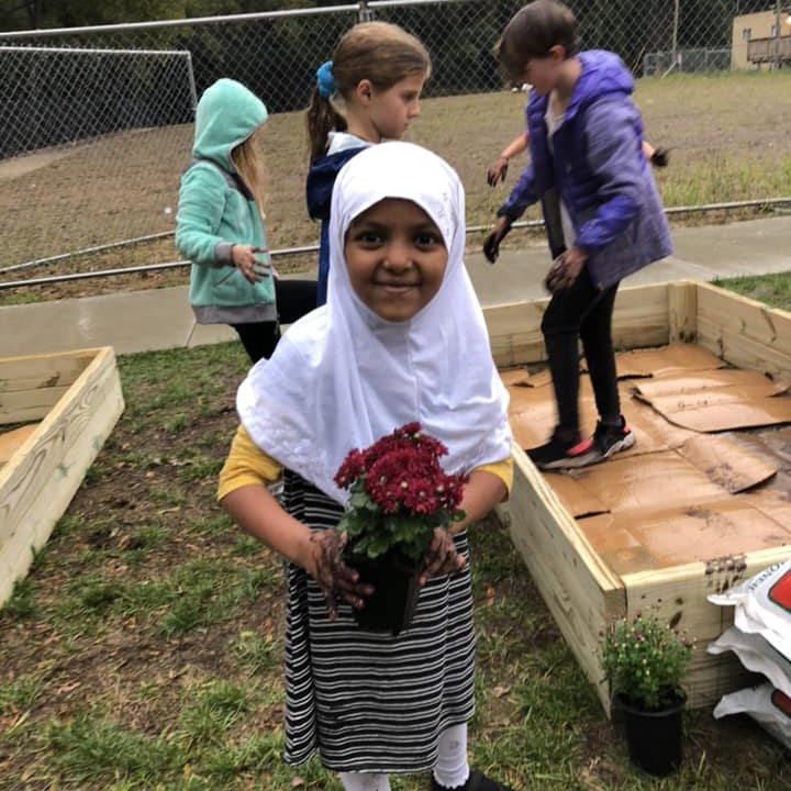 About - The Hollin Meadows Partnership for Outdoor Education is a 501(c)(3) with nearly a decade of service to the Hollin Meadows Elementary School (HMES) community.